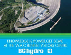 BC Hydro Visitors Centre