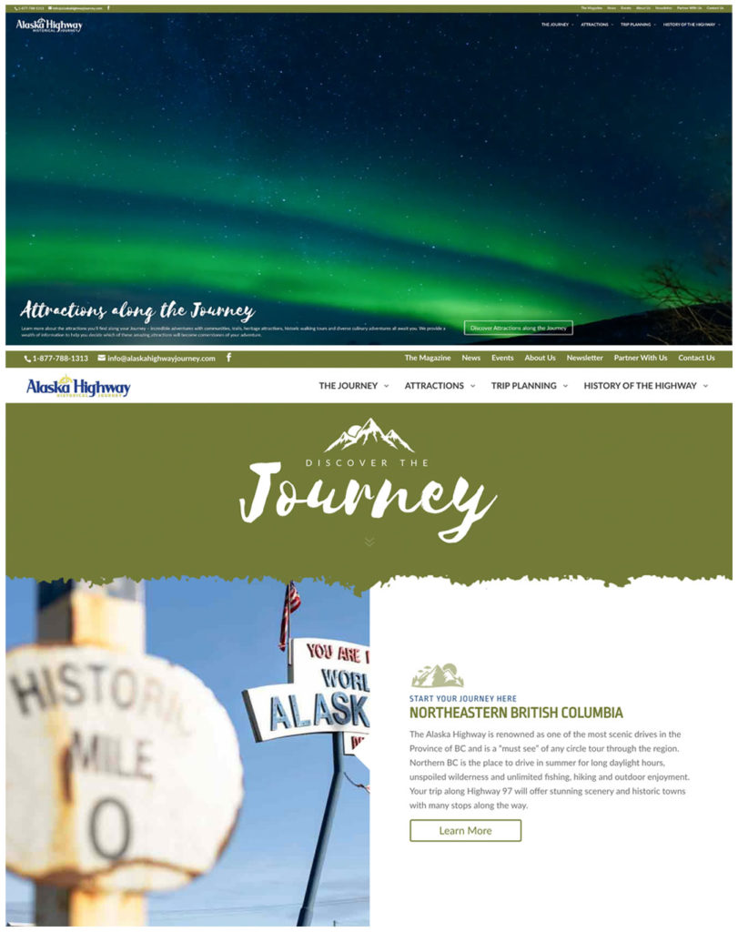 Alaska Highway Journey Website